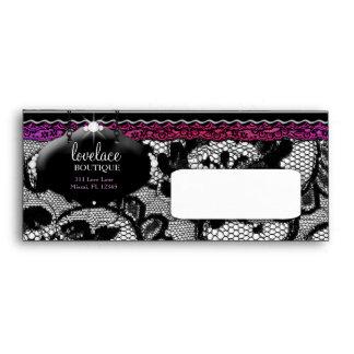 moda de la resplandor de 311-Lace de Luxe Purple y Sobres