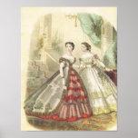 moda de los 1860s poster