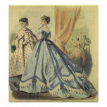 moda de los 1860s posters