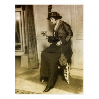 moda de los años 20 postales