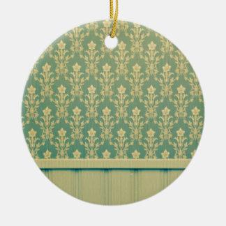 Moda de madera de la antigüedad de la pared del adorno redondo de cerámica
