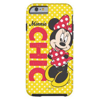 Moda de Minnie Funda Para iPhone 6 Tough