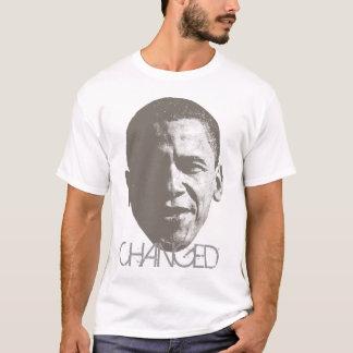 Moda de semitono cambiada T de Obama Playera