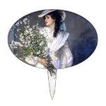 Moda del boda de la novia del Victorian Decoraciones Para Tartas