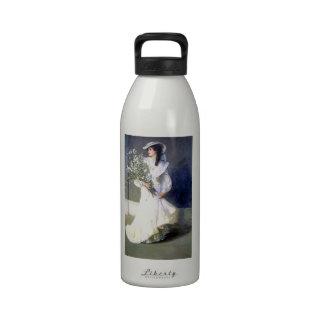 Moda del boda de la novia del Victorian Botella De Agua