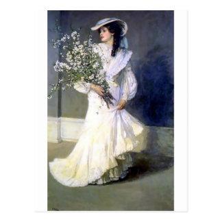 Moda del boda de la novia del Victorian Postales