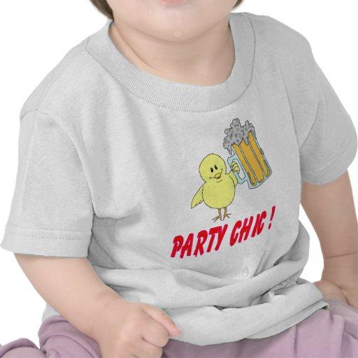 Moda del fiesta camiseta