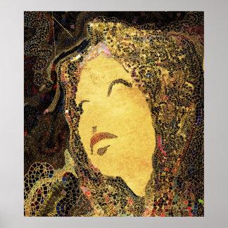 Moda del mosaico impresiones