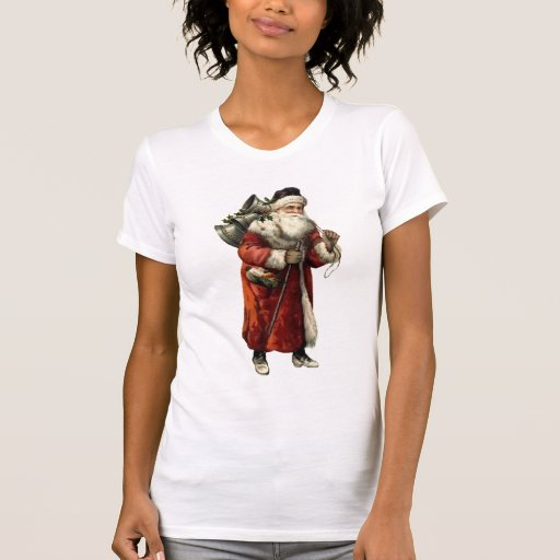 Moda del navidad del padre de PAPÁ NOEL del Camisetas
