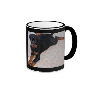 Moda del perrito taza