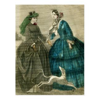 Moda del Victorian Postales