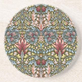 Moda del vintage del modelo del papel pintado flor