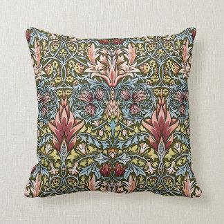 Moda del vintage del modelo del papel pintado flor almohadas