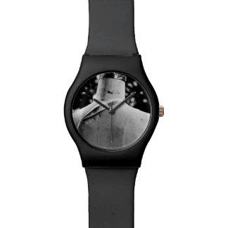 moda detrás al aire libre relojes de pulsera