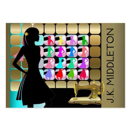 Moda/diseñador/costurera - SRF Tarjetas De Visita Grandes