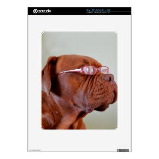 Moda Dogue de Bordeaux iPad Calcomanía