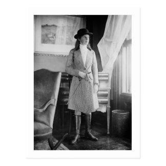 Moda ecuestre, 1915 postal
