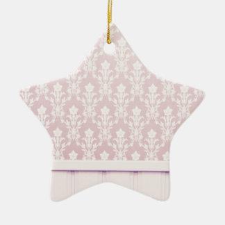 moda elegante de madera del papel pintado del adorno de cerámica en forma de estrella