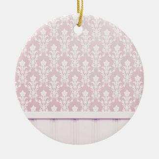 moda elegante de madera del papel pintado del adorno redondo de cerámica