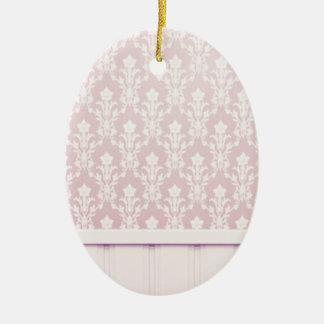 moda elegante de madera del papel pintado del adorno ovalado de cerámica