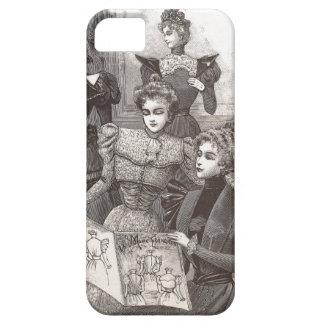 Moda elegante del vintage de los amigos de las funda para iPhone SE/5/5s