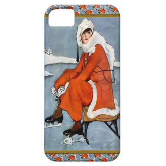 Moda en las cuestas del esquí iPhone 5 carcasas