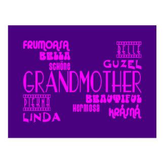 Moda femenina: Abuelas y abuelas hermosas Tarjetas Postales