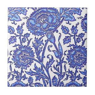 Moda floral azul azulejos ceramicos