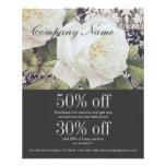 moda floral del rosa blanco del damasco del vintag tarjetas publicitarias