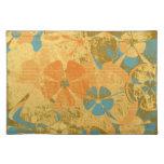 Moda floral Placemats del vintage Manteles Individuales