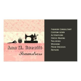 Moda hecha a mano femenina Moda Tarjetas De Visita