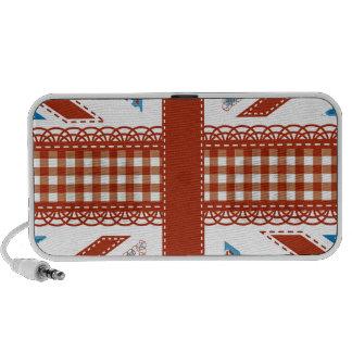 moda lamentable, bandera británica, remiendo, iPhone altavoz