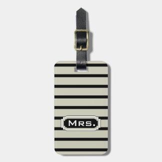 "MODA LUGGAGE/BAG TAG_ "" señora"" 212 Etiquetas De Maletas"