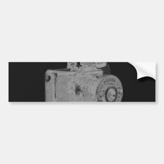 Moda media del arte de la cámara del formato pegatina para auto