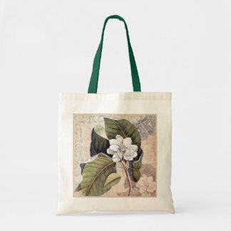 Moda meridional del damasco de la magnolia y de la bolsa tela barata
