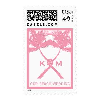 Moda moderna del boda tropical de la playa de las envio