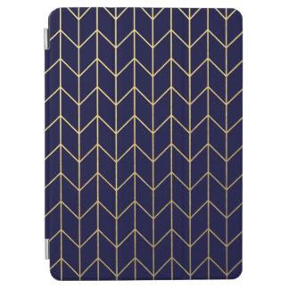 Moda moderna del fondo de los azules marinos de cover de iPad air