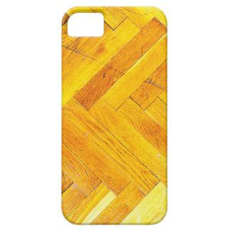 Moda natural del estilo de la textura de Brown de Funda Para iPhone 5 Barely There