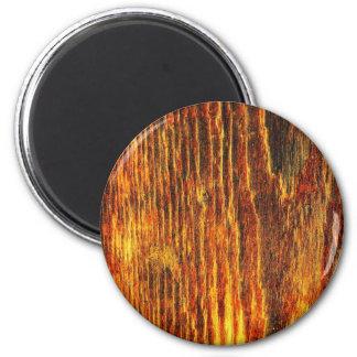 Moda natural del estilo de la textura de Brown de  Imán Redondo 5 Cm