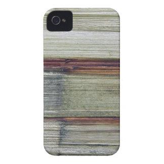 Moda natural del estilo de la textura de Brown de iPhone 4 Carcasas
