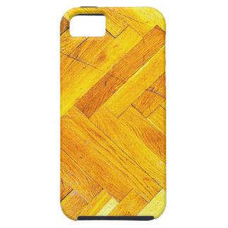 Moda natural del estilo de la textura de Brown de iPhone 5 Carcasa