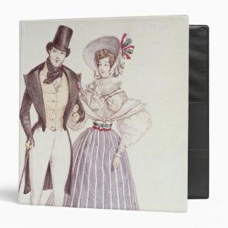 """Moda para los hombres y las mujeres, 1830 carpeta 1 1/2"""""""