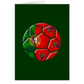 Moda Portuguesa - Fuetbol Chique Tarjeta De Felicitación
