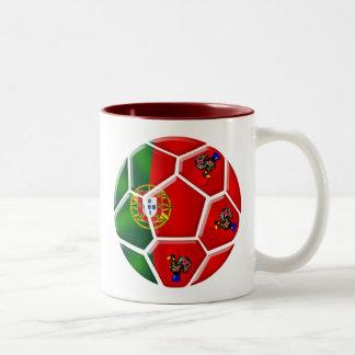 Moda Portuguesa - Fuetbol Chique Two-Tone Coffee Mug