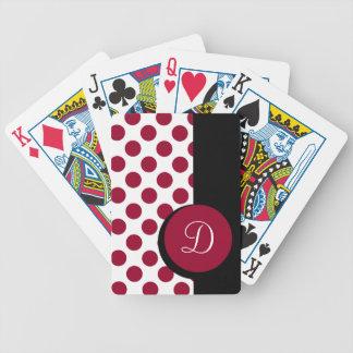 MODA QUE JUEGA LA RAYA ROJA DE CARDS_ 246 DOTS/BLA CARTAS DE JUEGO