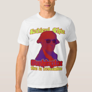 Moda radical de Washington Camisas