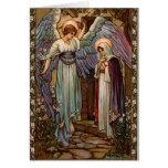 Moda religiosa de las tarjetas de Navidad vieja