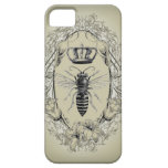 moda retra iphone5 de la corona de la reina de la  iPhone 5 protectores