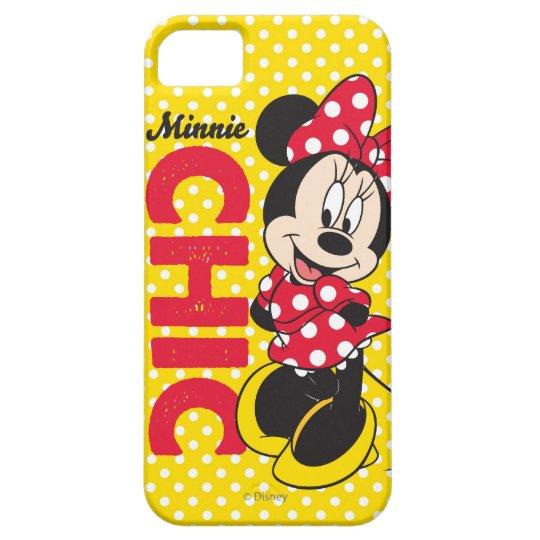 Moda roja de Minnie el   Funda Para iPhone SE/5/5s