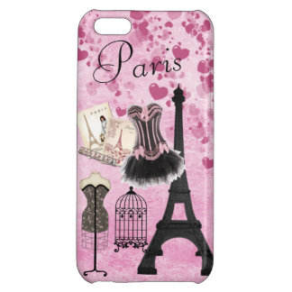 Moda rosada femenina elegante de París